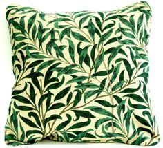 William Morris Willow Bough cushion cover