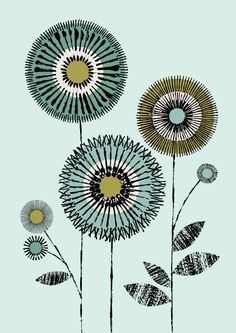 £16.24 Nice colours. I Love Flowers No1, limited edition giclee print.