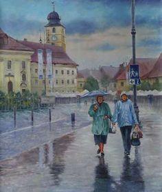 Walking On The Rain - Painting Rain Painting, Walk On, Creative Art, Hipster, Collection, Style, Swag, Creative Artwork, Stylus