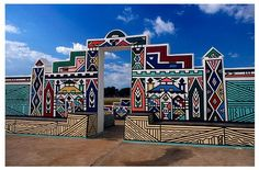 ndebele culture | Found on blogs.cornell.edu