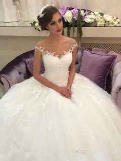 Exquisite Tulle Off-the-sho...