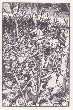Les Aiglons de Montrevel, Pierre Joubert - Bataille de Pontvalain, du Guesclin