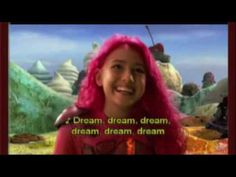 Taylor Lautner singing as Sharkboy in The Adventures of Sharkboy and Lavagirl