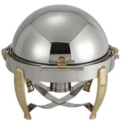 6-Qt Round Venetian 18/10 Roll Top Chafer With Solid Brass Handles by Winco. $375.50. Venetian Chafer, 6 quart, round, 18/10 stainless steel frame, solid brass gold-plated handles and legs, roll top with built-in brake mechanism, Venetian Chafer by Winco. WINCO is a manufacturer and worldwide importer of kitchenware and tableware. From cookware to flatware, we are dedicated to provide professional chefs and restaurateurs with quality products and superb services.