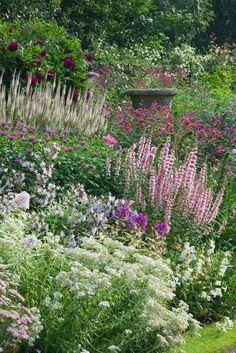 Beautiful border // Great Gardens & Ideas //Wollerton Old Hall