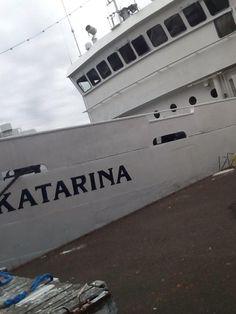 Koululaiva Katariina valmiina lähtöön.