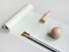 1970s Graph Paper Roll