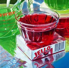 Alvin Richard | ACRYLIC | Cherry & Lime JELL-O