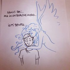 Ispirazione per uno schizzo triste… #sketch #scarabocchi #scarabocchio #schizzo #disegno #drawing #drawings #draw #angelo #angel #death #morte #iotisento #icanfeelit #ifeelyou