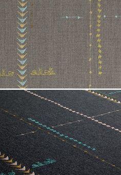 Hella Jongerius--amazing designer using stitches.