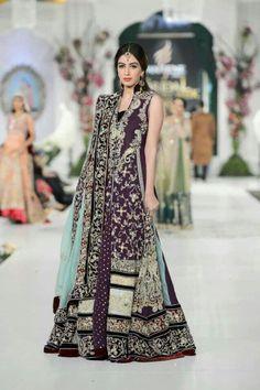 Caftan de mariée façon sari
