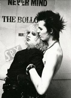 Sid and Nancy are non-living proof that love truly kills.