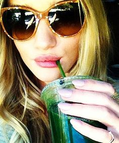 Celebrity juicing: recipes of the super-hot and supermodels revealed