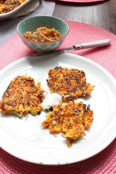 kochennachplan.de  leckere #Gemüsepuffer mit #Räucherlachs in #Honigsenf Dip mmmmmmh so #lecker :) Dip, Eggs, Breakfast, Food, Honey Mustard, Cooking, Morning Coffee, Salsa, Essen