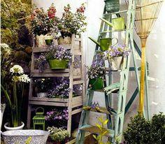 petit-jardin-amenage-sur-balcon - Decoration maison, Idees deco interieur, astuces et peinture