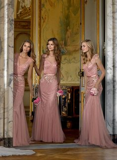 #SGWeddingGuide : Bridesmaids dresses PRONOVIAS 2014