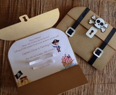 Image of Treasure Chest / Pirate Themed Invitations                                                                                                                                                                                 More
