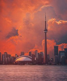 Toronto Ontario Canada, Toronto City, Downtown Toronto, City Photography, The Places Youll Go, Cn Tower, North America, Beautiful Places, Scenery