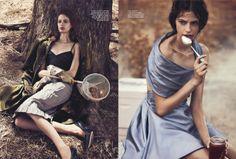 Cassi van den Dungen by Will Davidson for Vogue Australia April 2013