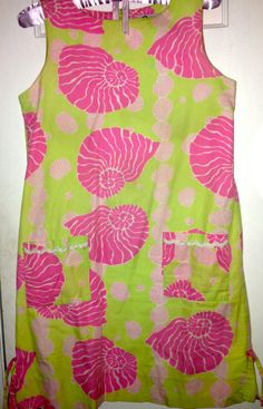 Vintage Lilly Pulitzer Shell dress