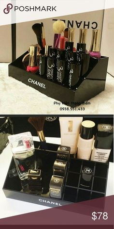 Chanel brush / cosmetic holder New with box CHANEL Makeup Brushes & Tools