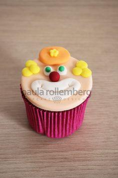 Cupcake de palhaço