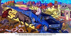 Ray Troll's Alaskan artwork