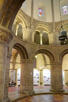 Cambridge Round Church - 12th century, via Flickr.