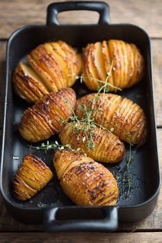 hasselback potatoes with chipotle butter