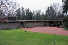 Gerald B. Tonken's Residence. Facade and porte-cochere