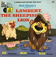 Lambert The Sheepish Lion Book and Record. I loved this song and played it over and over.