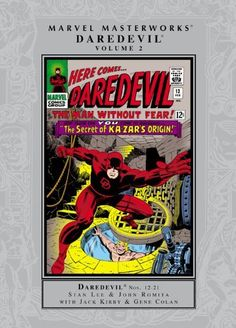 Marvel Masterworks: Daredevil Volume 2 by Roy Thomas, http://www.amazon.com/dp/0785150501/ref=cm_sw_r_pi_dp_t8ZYqb0ZVK64Q