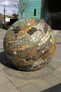 awesome #mosaic globe