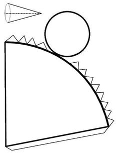 How to Make a Cone with Paper. A cone is a tridimensional geometric shape formed by rotating a right-angled triangle around one of its sides.