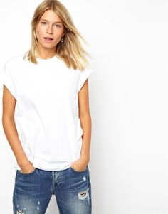 T-shirt by ASOS Collection    Made from 100% pure cotton    Soft-touch jersey fabric    Crew neckline    Short sleeves with rolled cuffsRelaxed and regular fitABOUT ASOS COLLECTIONDirectional, exciting and diverse, the ASOS Collection makes and breaks the fashion rules. Scouring the globe for inspiration, our London based Design Team is inspired by fashion's most covetable trends; providing you with a cutting edge wardrobe season upon season.