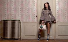 Bella Hadid Fendi ss 2017, Джиджи и Белла Хадид в рекламной кампании Fendi