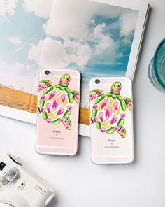 Customer Pictures for sea turtle iphone case #iphonecases #turtle @starrybuy Buy It: https://www.starrybuy.com/collections/clear-phone-case/products/watercolor-sea-turtle-clear-iphone-6-case