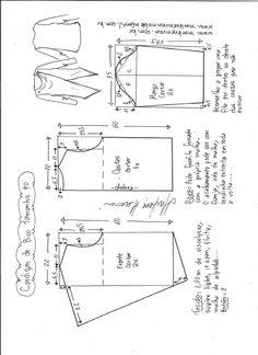 Cardigan de bico – DIY – molde, corte e costura – Marlene Mukai