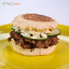 Carla Hall's Lamb Burgers #TheChew