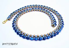 Free necklace Pattern Akke Jonkhof