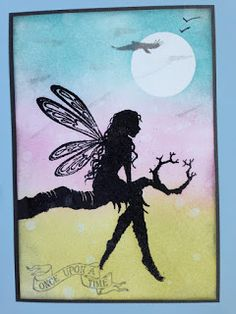 Lavinia Stamps Cards, Fairy Crafts, Homemade Christmas Cards, Ink Stamps, Fairy Art, First Tattoo, Creative Crafts, Diy Cards, Fairies