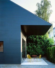 Garden House | Waechter Architecture; Photo: Sally Schoolmaster | Archinect