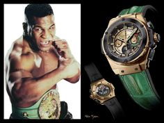 The #Hublot Mike Tyson Limited Edition watch
