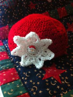 Holiday Crochet Baby Hat