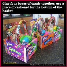 25 diy christmas basket ideas for families and friends basket diy edible easter baskets negle Images