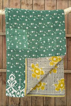 Kantha quilt 1: by M