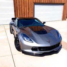 The Shark Grey C7 Z06/Z07 A8 Corvette Stingray