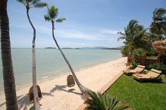 Bringing a touch of class to beachfront living on Samui!    This photo was taken from our villas, Baan Mika (Plai Laem, Koh Samui).