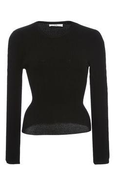 TIBI Corset Waisted Pullover. #tibi #cloth #pullover