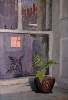 Mary Potter, Fern in Harley Street Window INSPIRE YOURSELF EVERY DAY WITH WHAT YOU SEE